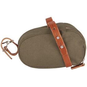 Brooks Isle of Wight Saddle Bag Large green/honey